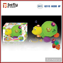 Intelligent match turtle plastic b/o baby toys 1 year