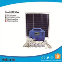 High quality 30w solar system in karachie