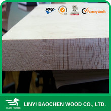 Radiate pine edge glued solid wood panels/Linyi wooden factory / finger joint panel, board