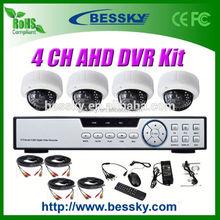 1.0/1.3 Megapixel HD CCTV Camera kit ahd-h dvr 2.8-12mm Manual Zoom Lens