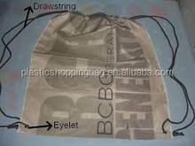 Plastic Bag OEM Custom Printed Plastic Shopping Bag with Draw String