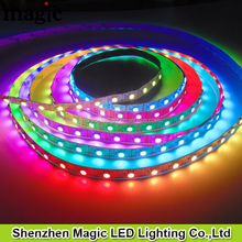 5meter per roll digital individually strip ip65 300leds/roll with ws2812 ic for outdoor/indoor decorate