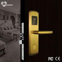 changzhou new products hotel door handle locks keyed