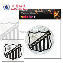 team logo stickecar sticker for acrylic /basketball logo sticker