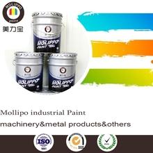 Color anti rust aluminum paint for industrial paint
