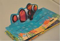 New Design Children Book Printing / Printing Children Board Book / Pop Up Book
