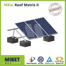 Aluminum Solar Pv Panel Ground Support