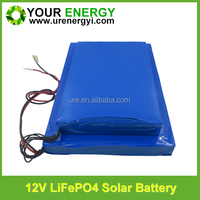 lifepo4 12v 36ah rechargeable battery pack with long cycle life