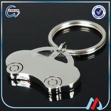 Factory supply round car shaped keyring for advertising