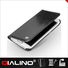 QIALINO Best Full Protection Design Custom Fit For Galaxy S6 Leather Case