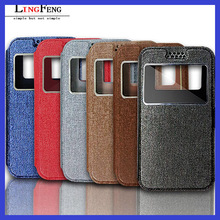 3.5 inch-6.0 inch leather universal flip phone case for cell phone