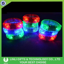 Supply Promotional Party Voice Activated LED Bracelet,Noise Activated Led Bracelet