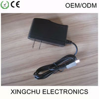 Quick Charger US plug Wall Phone Adapter China wholesale Home charger with Black color, travel charger for shaver
