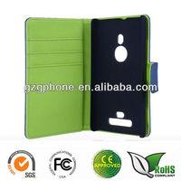 Flip leather case cover for Nokia Lumia 925