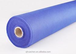 blue non-woven fabric/glossy shining lamination shopping bag
