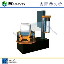 Transportable cling film cylinder type wrapper packing machine