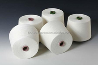 raw white color 50/2 100% polyester yarn sewing thread