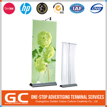 Iso9001 Certified Newest Model Custom Tag Promotion Roll Up Banner Stand