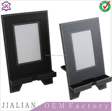 Desk Sets Type and Leather Material photo frame holder