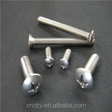 high quality iron philips pan head plated machine screw
