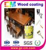 Water based fire-proof indoor wood grain coating