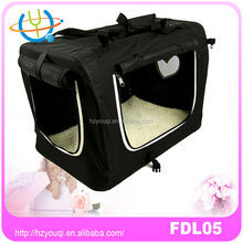 Fashion design dog cage soft crate
