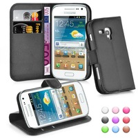 Wallet Flip Leather Moblie Phone Case Cover with Card Slots for Samsung Galaxy Trend Plus