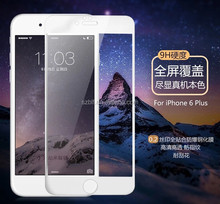 Best quality 100% Full Cover 9h 0.26mm 2.5D For Iphone 6 Tempered Glass Screen Protector