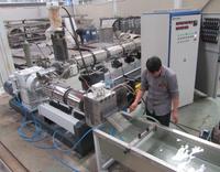 waste plastic granulation machne