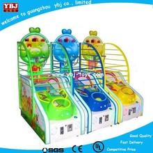 USA hot sale shooting hoop basketball /electronic basketball game machine for children