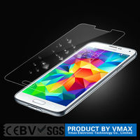 Brand Vmax Mobile Phone accessories 2.5D Anti Broken Tempered Glass screen protector for Samsung galaxy s5 Welcome OEM/ODM