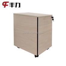 Office use under desk 3 drawer metal mobile filing cabinet