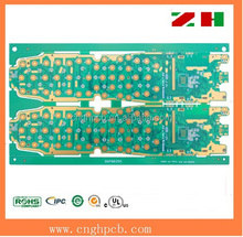 2015 new standard Immersion gold plating 10-layer fr-4 pcb assembly manufacturer in china