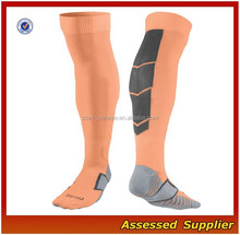 High Quality Bulk Thigh High Custom Nylon Soccer Socks With Spandex For Men
