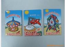 Tourist souvenirs Fridge tin magnets Iron Magnets