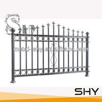 Low Price High Quality Wrought Iron Fence