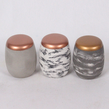 concrete wedding candle jars wholesale candle holder with soy wax