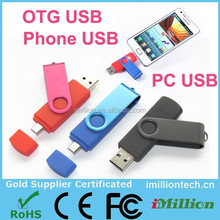 Dual OTG Micro USB & USB 2.0 Flash Drive Thumb Drive for Android Smart Phone Tablet PC