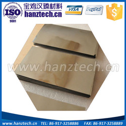 tungsten plate for thermoscreen