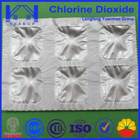 Cooling Tower Water Treatment Chemicals with ClO2 Algae fungicidal bacteriostatic agent