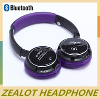 Factory direct sales 2014 Hottest wireless Mp3 sport bluetooth headphone for iphone 5S and 5c
