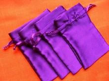 Satin Drawstring Gift Bag With Logo,Wholesale Personalized Drawstring Satin Bags