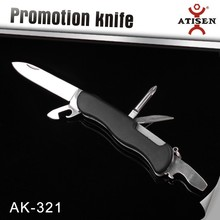 7 In 1 Multi Function Army Knife Pocket Size for Outdoor/Camping