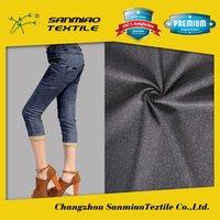 SANMIAO Brand best selling popular 100 cotton fire retardant denim fabric WHCP-2601