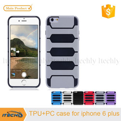 High quality TPU pc back case fancy cell phone cover for iPhone 6 Plus