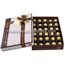 cheap new chocolate paper packaging box