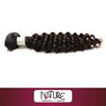 AAAA GRADO! PEARL NEGRO / NATURALEZA INDIAN humano extensión del pelo