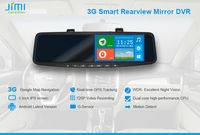 JiMi 2014 Newest 3G Smart Rearview Mirror DVR universal 1 din car dvd player android with tablet pc