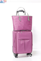 purple color Airline Cabin Size best travel business carry-on luggage