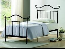 Double Queen size Design modern home platform Metal bed